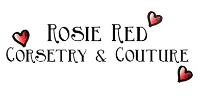 Rosie Red Corsetry & Couture. Fantasy bridal and couture wear for all body  types. Bespoke luxury bridal and event wear, with a focus on corsetry and  couture techniques. Made in England. All glorious body shapes and types are  catered for. Clients include Helena Bonham Carter and Billie Piper ♥""
